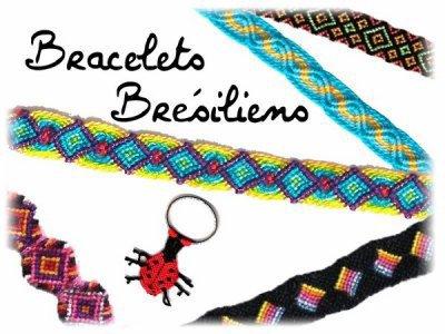 bracelets brésiliens créations