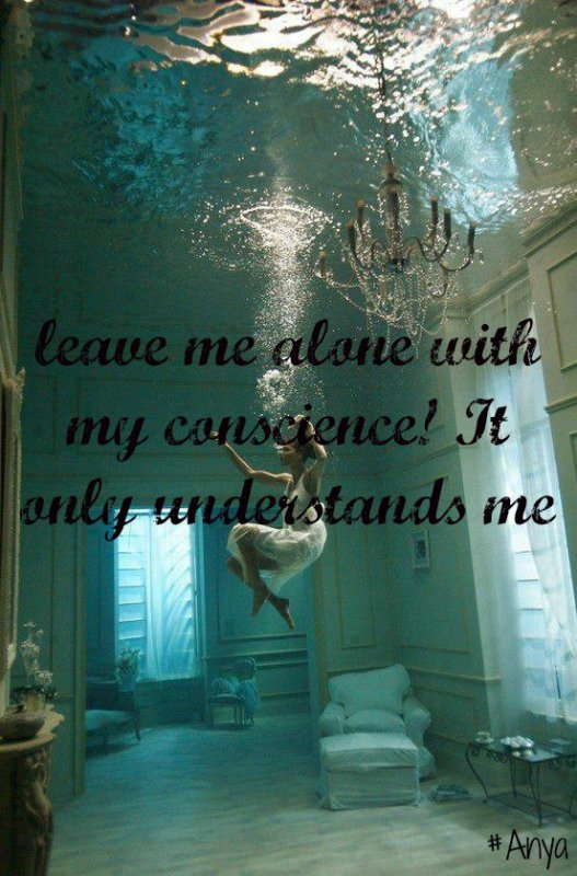 Leave me alone ...