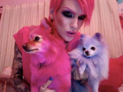 IT'S JEFFREE STAR BITCH !