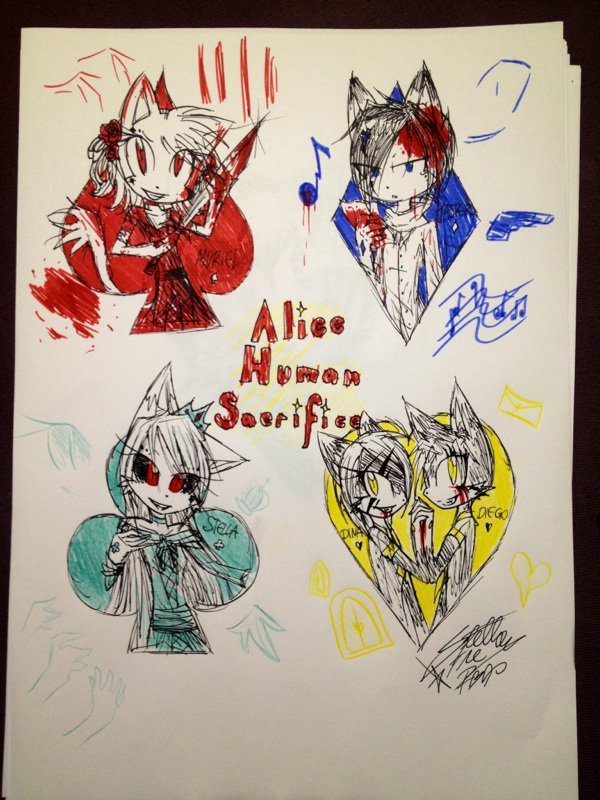 Alice Human Sacrifice. [SPECIAL HALLOWEEN]