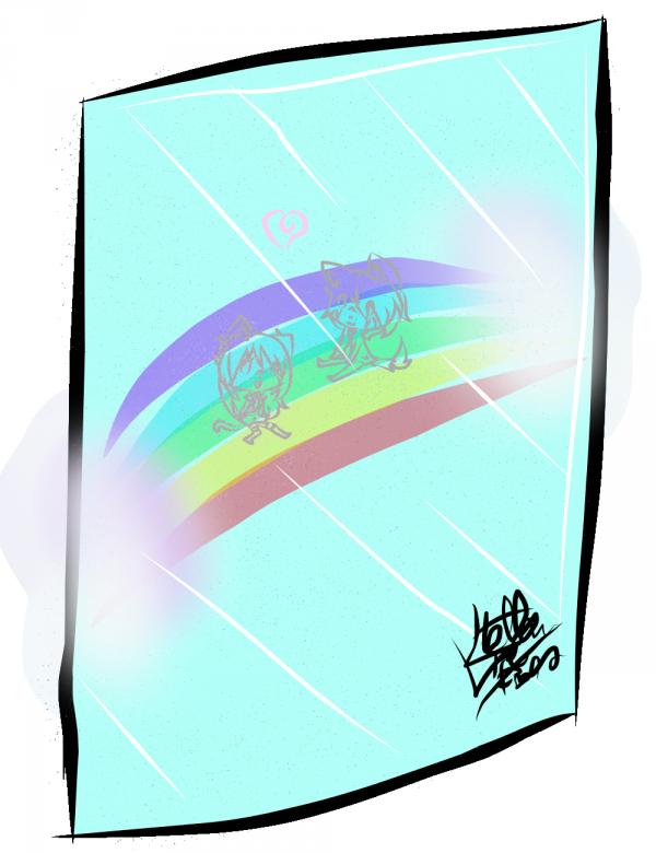 COMMANDE: Sora x Lou Rainbow !