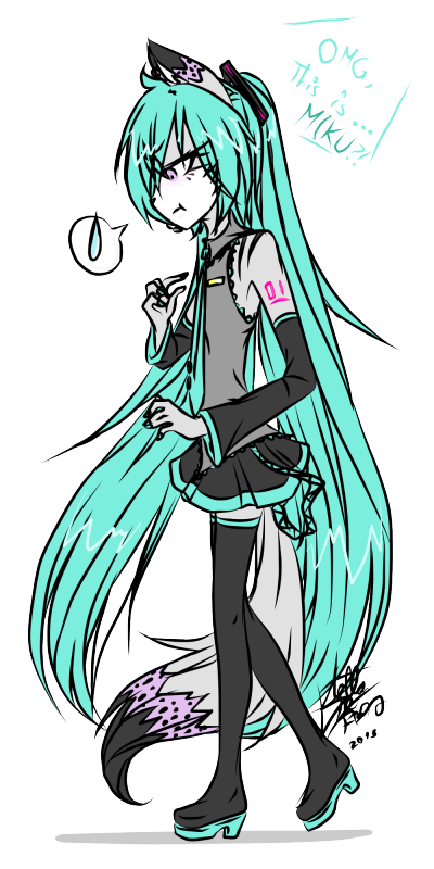 PROJECT: Jasper in Hatsune Miku ~ :,D