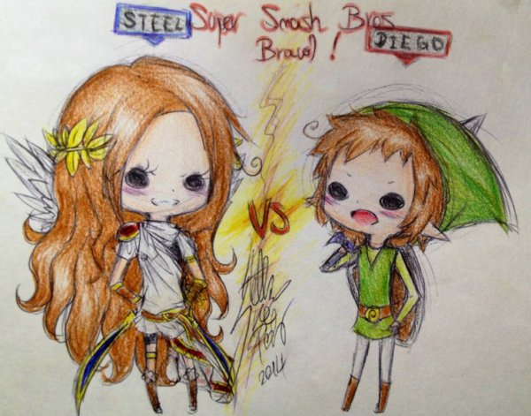 DRAW: Let's play Super Smash Bros Brawl !