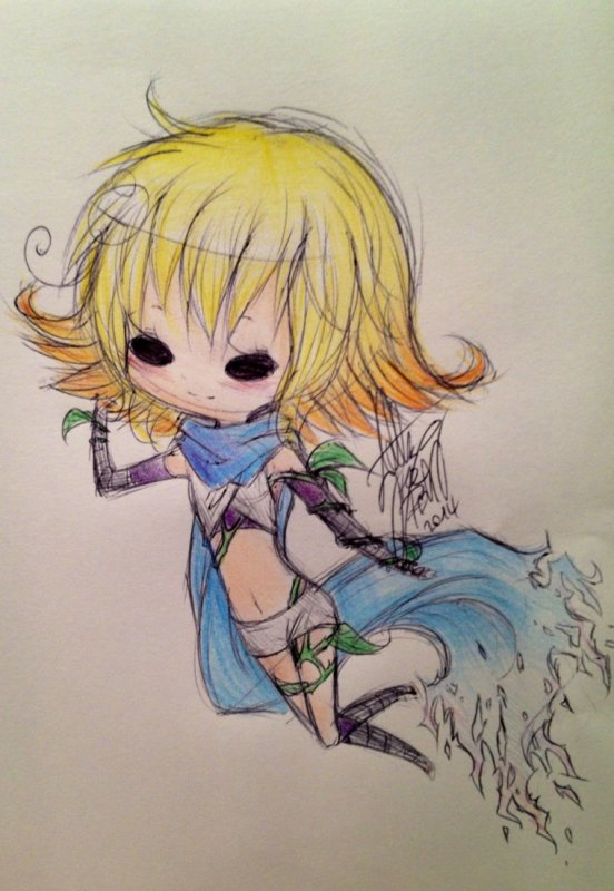 DRAW: Chibi Phosphora. ~