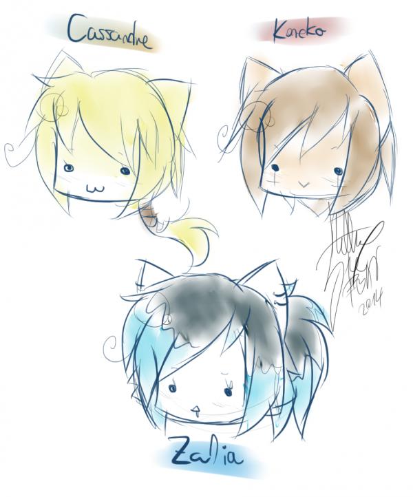 GIFTS: Mini Heads.