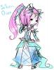 DRAW (rapide): Lightinna, the Solarenna's Queen.