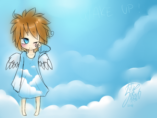 DRAW: '' Wake up ! ''