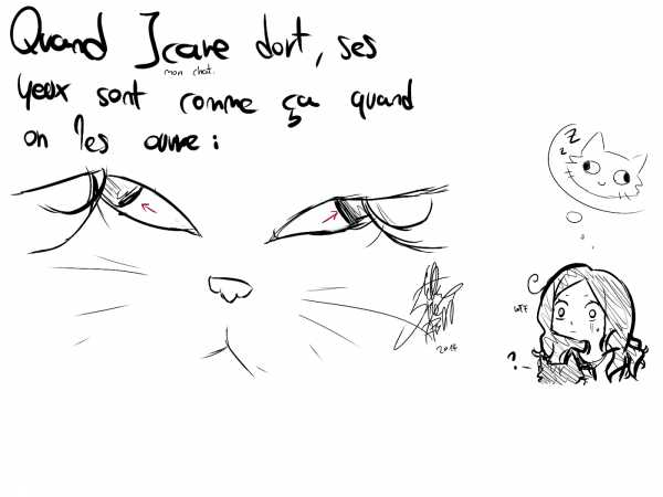 DRAW: Icare eyes.