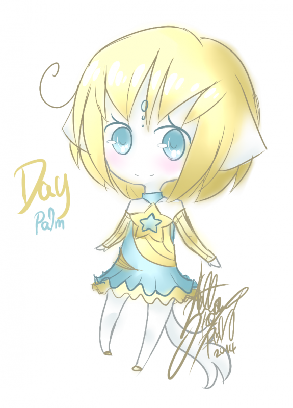 DRAW: Chibi Day Palm.
