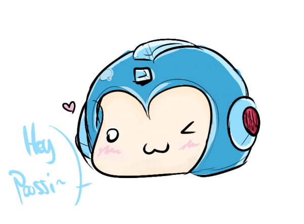 DRAWS: Megaman Head | Craignez-leuh ~