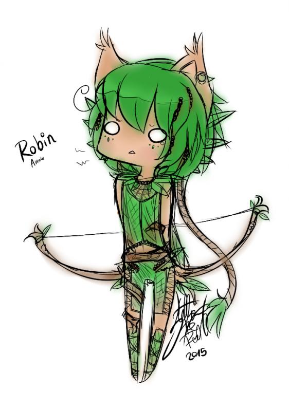 DRAW: Robin Arrow Relooking.