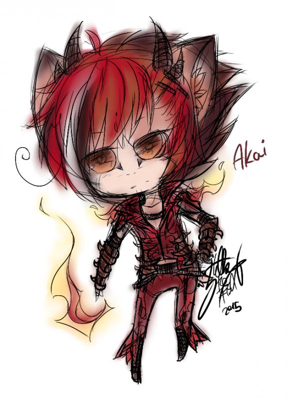 DRAWS: Akai et Phoenix.