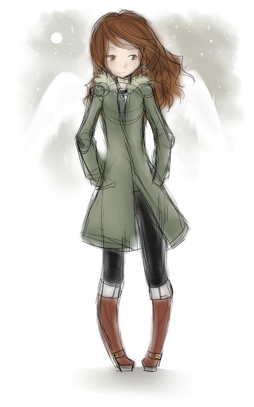 DRAW: Guardian angel.