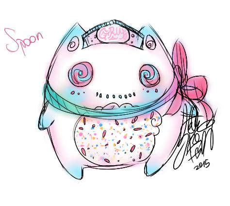 DRAW: Spoon, la peluche adorée d'Amai.