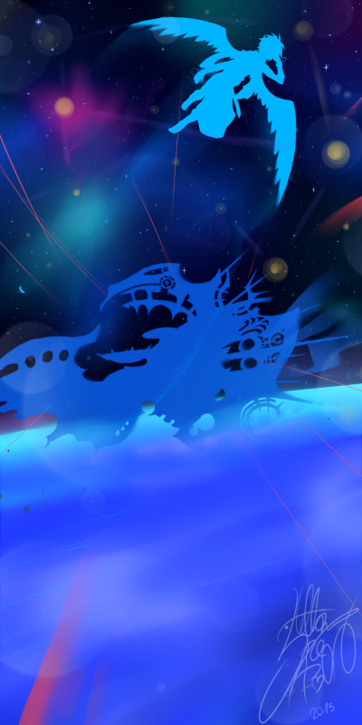 DRAW: The Space-Pirate Ship.