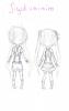 SKETCH: Jigokumimiro Duo, tenues (test 1)