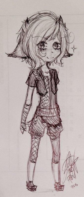 DRAWS: Quelques dessins que j'avais oublié de poster.