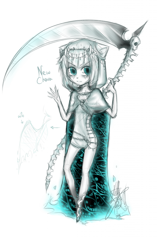 DRAW: Death Chibi.