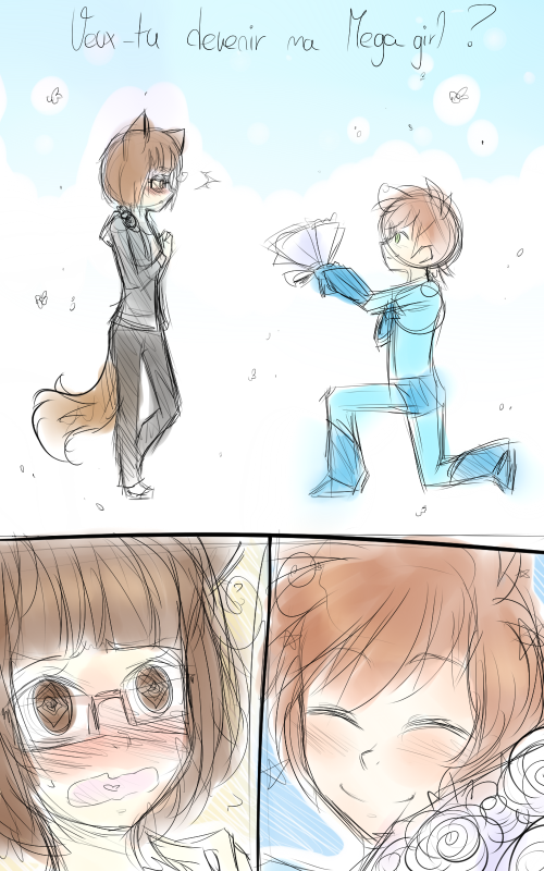 DB(rapide): Veux-tu devenir ma Megagirl ?