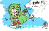 SKETCH: Palutena CAN fly.