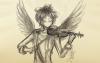 SKETCH: Divine Violin.