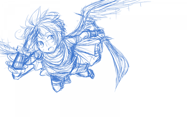 SKETCH: Power of Flight.