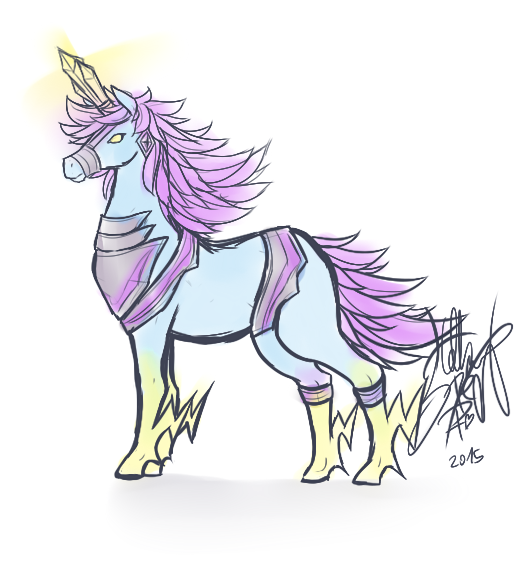 SKETCH: Kid Icarus Unicorn