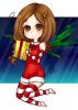 DRAW: L'ange aux ailes de houx qui offre des enfants- [Joyeux Noël]