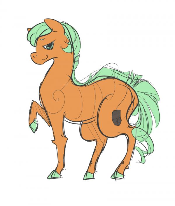 DRAW: I m A g I n A t I o N horse