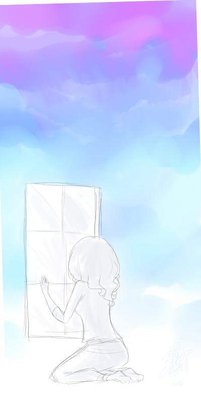 DRAW: My own sky is not outside.