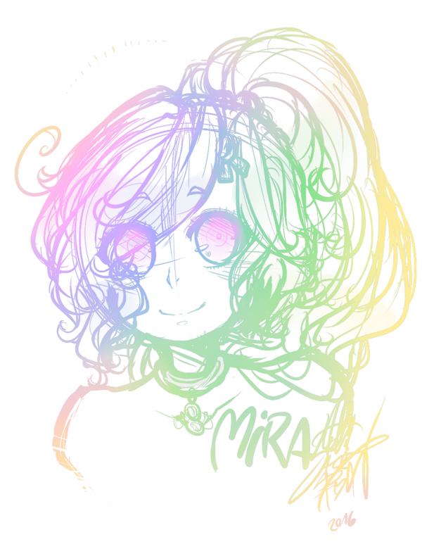 GIFT: Mira portrait