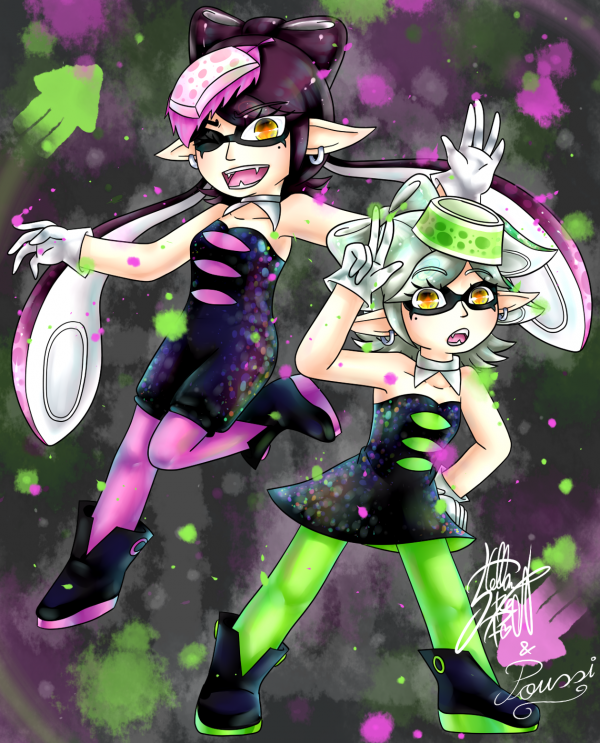 COLLAB: Squid Sisters Time !