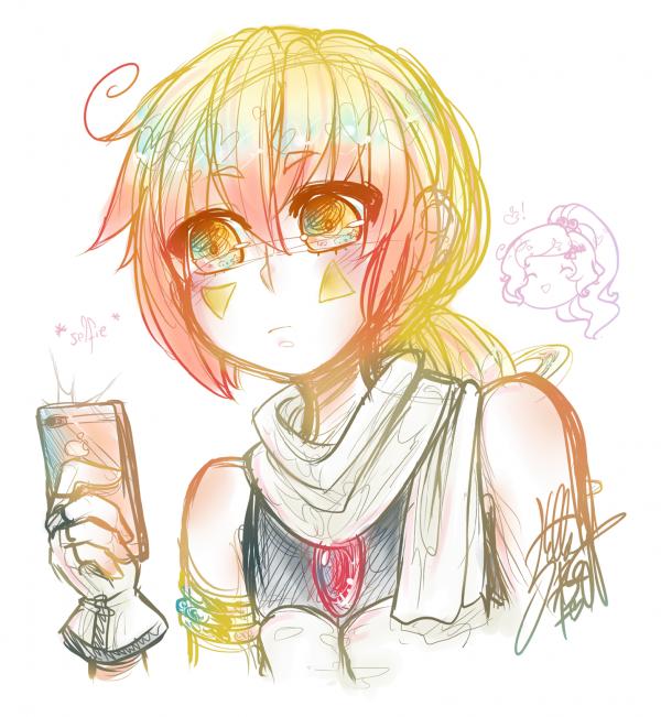 GIFT: apple selfie