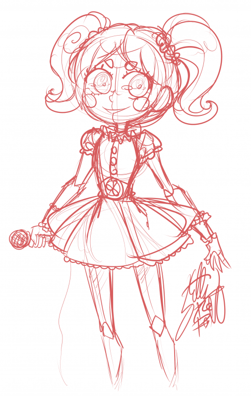 SKETCH: Circus Baby