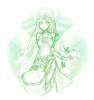 DRAW: lady palutena