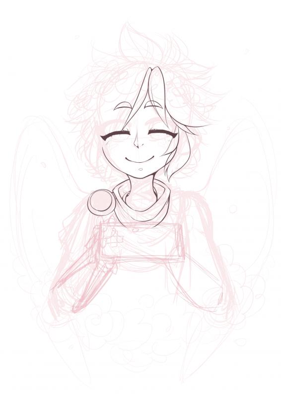 WIP: a lone angel