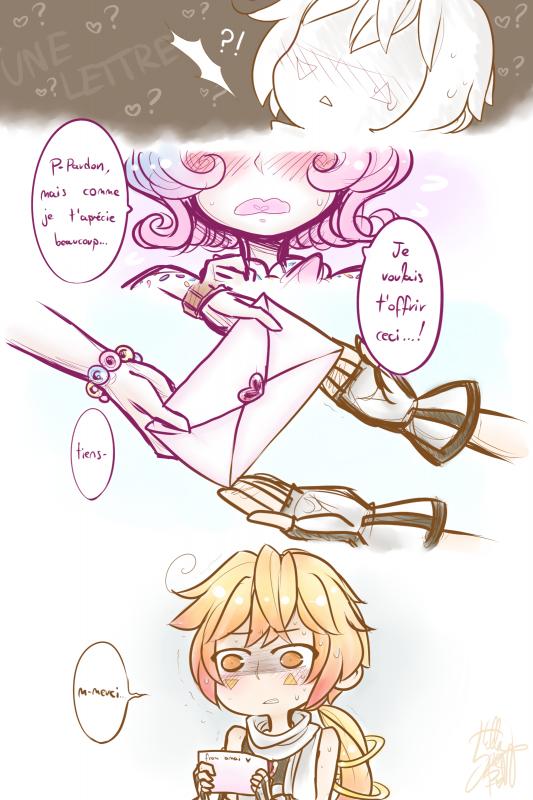 COMIC: Amai's love letter