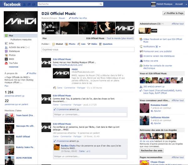 Page Officiel Facebook...!