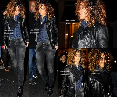 Rihanna, a été aperçue se rendant à une afterparty dans une boutique Armani à Milan en Italie. + Voici une video de Rihanna qui était sur le plateau du tournage de la marque « Emporio Armani ». Cet video a été dévoilé aujourd'hui