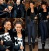 20/10/11 : Notre belle Rihanna , a été aperçue quittant son hotel parisien pour se rendre à « Bercy ». 20/10/11 : Le soir, Rihanna F met le feu à Bercy elle nous a offert un show électrique et... super sexy