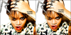 Pochette officiel de l'album « Talk that talk » .