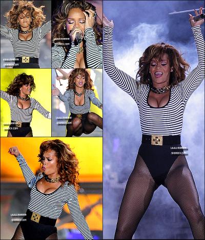 17/09/11 : Rihanna Fenty , a donné un concert toujours dans le cadre du Loud Tour à Sao Paulo au Brésil
