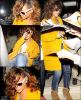 19/08/11 : On retrouve Rihanna toujours avec sa meilleure amie à côté se rendant au resteau « Nozomi » .