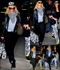 01/03/12 : Après plusieurs jours à Londres Rihanna est enfin rentrée à L A toujours au côté de sa Bf Melissa