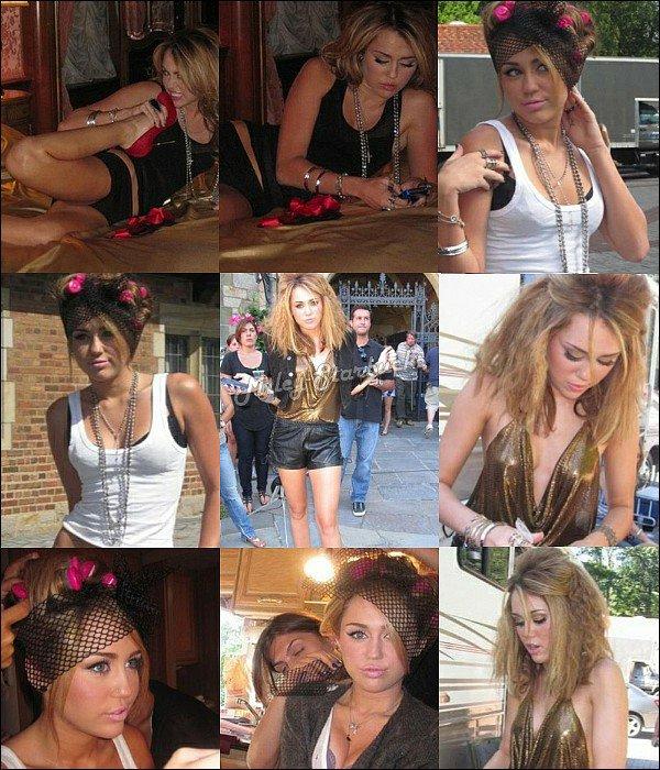 20 Juin : Miley fait du shopping et mange avec son père