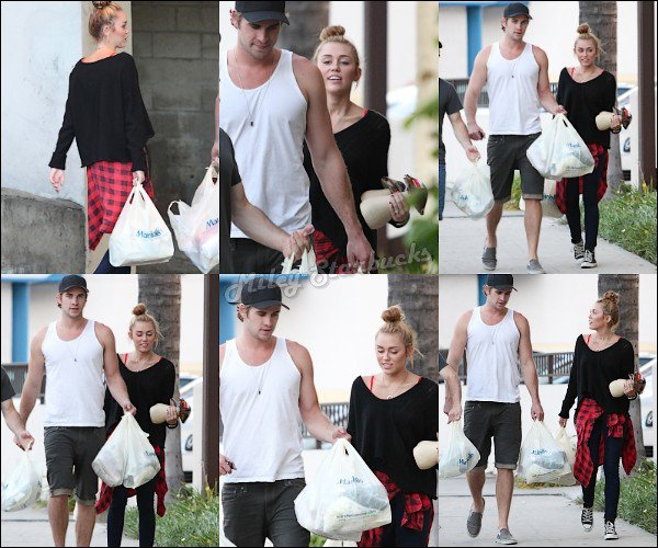 02/07  Miley fait du shopping