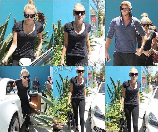 16/07  Miley & Liam prennent l'avion