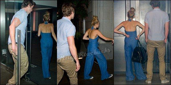 19/07  Miley se promène