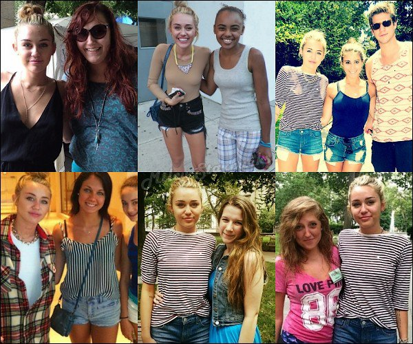 31/07 Miley sur le tournage du film de Liam