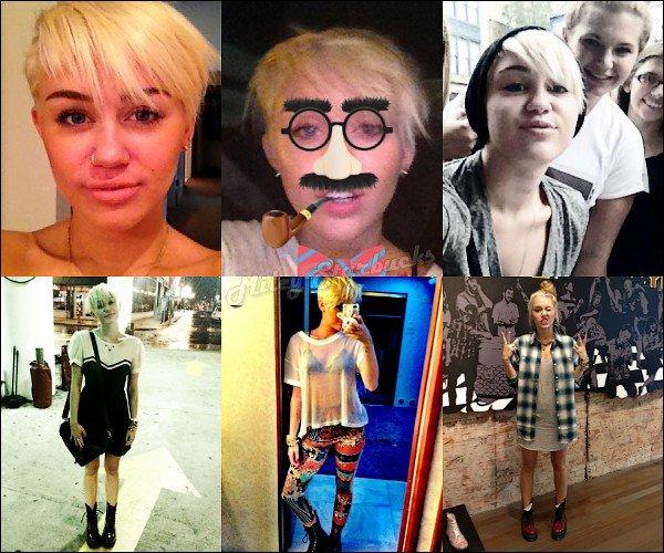 18/08  Miley (encore) dans sa voiture à Philadelphie